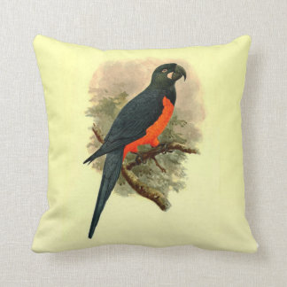 Ara Martinicus Throw Pillow (Square)