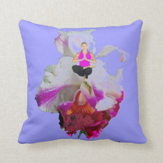 ARA PILLOWMANIA, YOGA ORCHID PILLOW REVERSIBLE