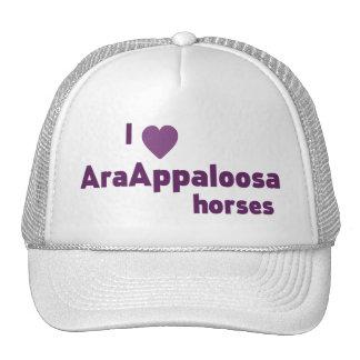 AraAppaloosa horses Trucker Hat