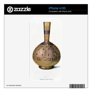 Arab Bottle, plate IX from a late 19th century alb Skin For The iPhone 4