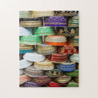 Arab Caps At Market Jigsaw Puzzle