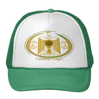 Arab Culture Golden Eagle Trucker Hat