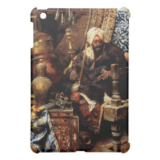 Arab Dealer Among His Antiques Cover For The iPad Mini