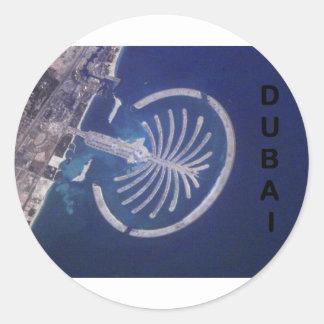 Arab Emirates Dubai Palm-Island Resort (St.K) Classic Round Sticker
