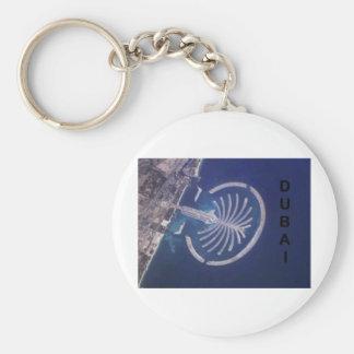 Arab Emirates Dubai Palm-Island Resort (St.K) Basic Round Button Keychain