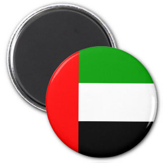 Arab Emirates High quality Flag 2 Inch Round Magnet