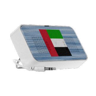 Arab Flag Floating on water Portable Speakers