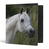 Arab Horse Headshot 1 Binder