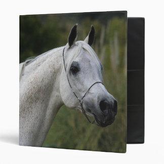 Arab Horse Headshot 1 Vinyl Binder