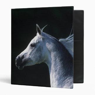 Arab Horse Headshot 2 Binder