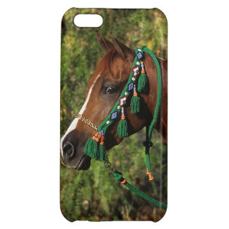 Arab Horse Headshot with Bridle Case For iPhone 5C