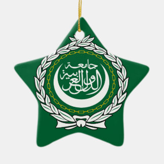 Arab League Ceramic Ornament