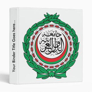 Arab League Coat of Arms detail Binders