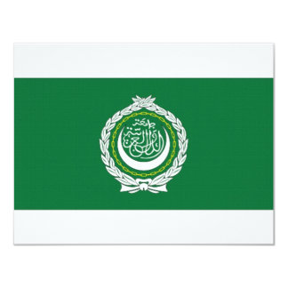 Arab League Flag Card
