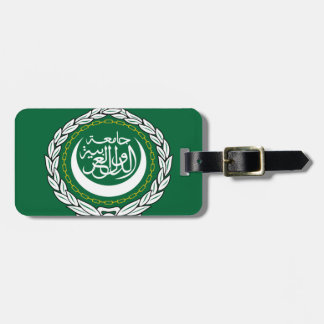 Arab League Flag Luggage Tag
