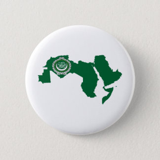 Arab League Flag Map full size Button