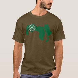 Arab League flag map T-Shirt