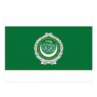 Arab League Flag Postcard