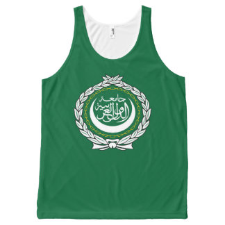 Arab League flag symbol islamic muslim All-Over-Print Tank Top