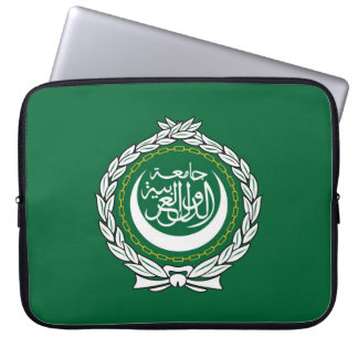 Arab League flag symbol islamic muslim Laptop Sleeve