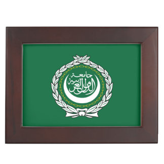 Arab League flag symbol islamic muslim Memory Box
