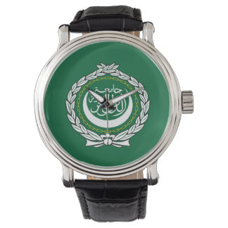 Arab League flag symbol islamic muslim Wristwatch