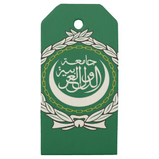 Arab League Wooden Gift Tags