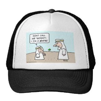 arab muslim moslem islam sunni shi'a shia sonny trucker hat