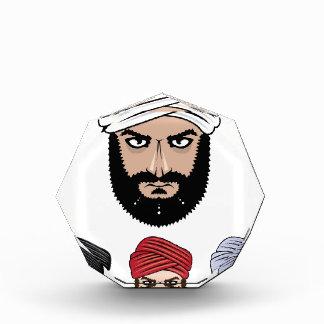 Arab Muslim vector Acrylic Award