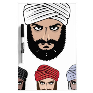 Arab Muslim vector Dry-Erase Board