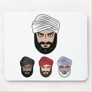 Arab Muslim vector Mouse Pad