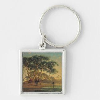 Arab Oasis 1853 Keychains