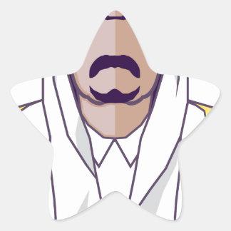 Arab Prince vector Star Sticker