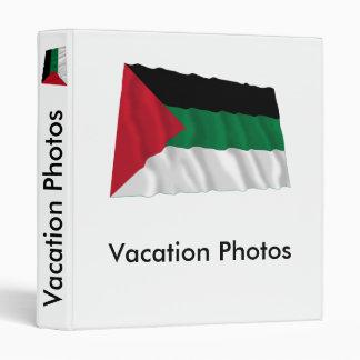 Arab Revolt Waving Flag Vinyl Binder