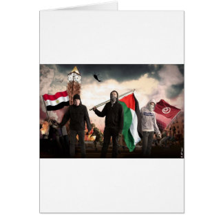 ARAB REVOLUTION 2011 CARD