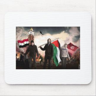 ARAB REVOLUTION 2011 MOUSE PAD