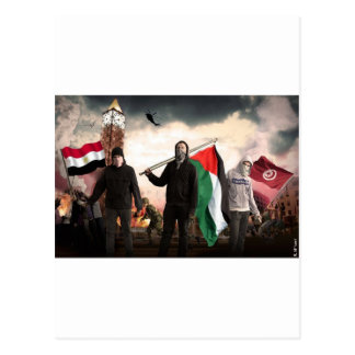 ARAB REVOLUTION 2011 POSTCARD