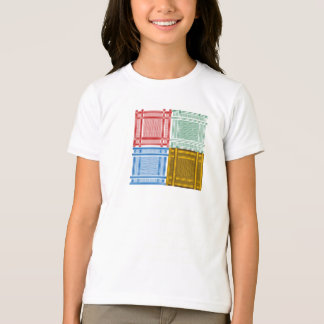 Arab Shemagh Scarves Girls T-Shirt
