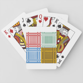 Arab Shemagh Scarves Playing Cards