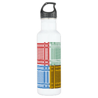 Arab Shemagh Scarves Water Bottle