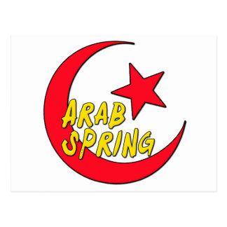 Arab Spring Postcard