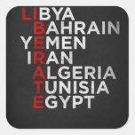 Arab Spring Sticker