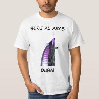 Árabe del al de Burj, Dubai Playeras
