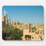 Árabe del al de Burj - Madinat Jumeirah Alfombrillas De Ratones