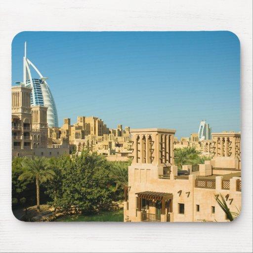 Árabe del al de Burj - Madinat Jumeirah Tapete De Ratón