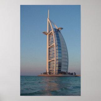 Árabe del Al de Burj Póster
