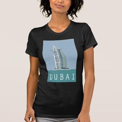 Árabe del al de Dubai Burj Camiseta