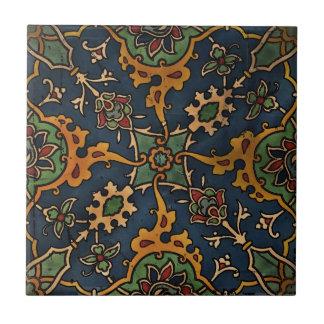 Árabe del l'Art de Nouveau del arte Azulejo Cuadrado Pequeño