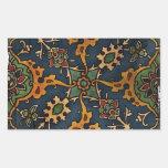 Árabe del l'Art de Nouveau del arte Etiqueta