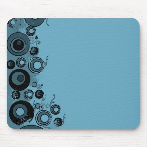 Arabesco azul mouse pads